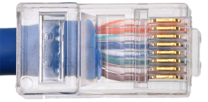 رنگبندی سوکت شبکه