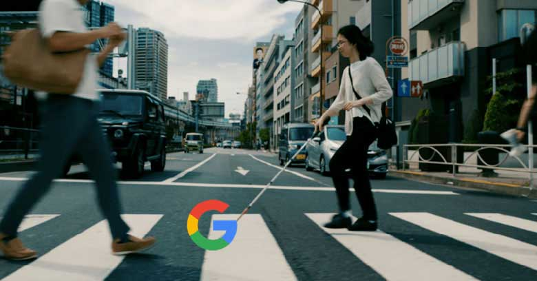 گوگل و نابینایان