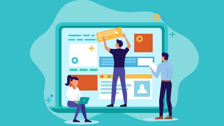 طراحی صفحه اصلی وب سایت