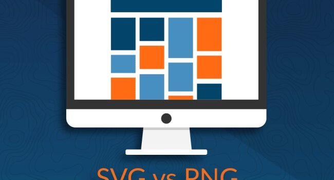 SVG یا PNG: کدام یک را در طراحی سایت استفاده کنیم؟